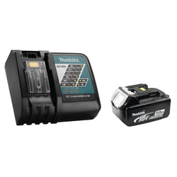 Makita Y-00309 - 18V Rapid Charger & 5.0Ah Battery Combo - wise-line-tools