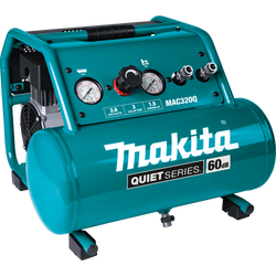 Makita MAC320Q  -  1/2 HP 1 Gal Quiet Series Air Compressor
