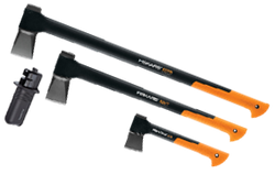 "FISKARS ""BUSHMAN"" 4PC AXE COMBO SET - wise-line-tools"
