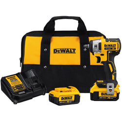 "DEWALT DCF890M2 - 20V MAX* XR 3/8"" COMPACT IMPACT WRENCH KIT - wise-line-tools"