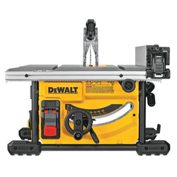 "DeWalt DWE7485  -  8 1/4"" Job Site Table Saw (24-1/2"" Rip Capacity)"