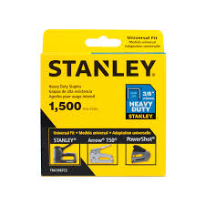 STANLEY TRA706TCS  -  1,500 PC 3/8 IN HEAVY DUTY STAPLES - wise-line-tools