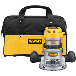 DeWalt DW618K  -  2-1/4 HP EVS Fixed Base Router Kit