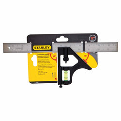 STANLEY 46-222  -  12 IN COMBINATION SQUARE - wise-line-tools