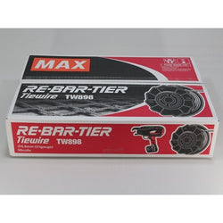 MAX TW898 USA BUY AMERICA CERTIFIED TIE WIRE - Wise Line Tools