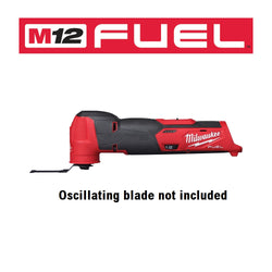 Milwaukee 2526-20  -  M12 Fuel Oscillating Multi-Tool - Tool Only