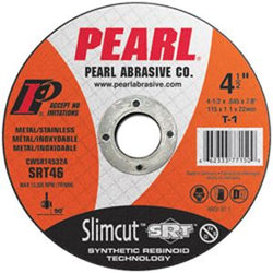 Pearl CWSRT0532A  -   5 X .045 X 7/8 Pearl Slimcut Srt Thin Cut-off Wheels, Type 1 - wise-line-tools