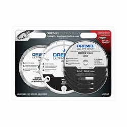 Dremel US700 - 6pc Ultra-Saw Blade Set