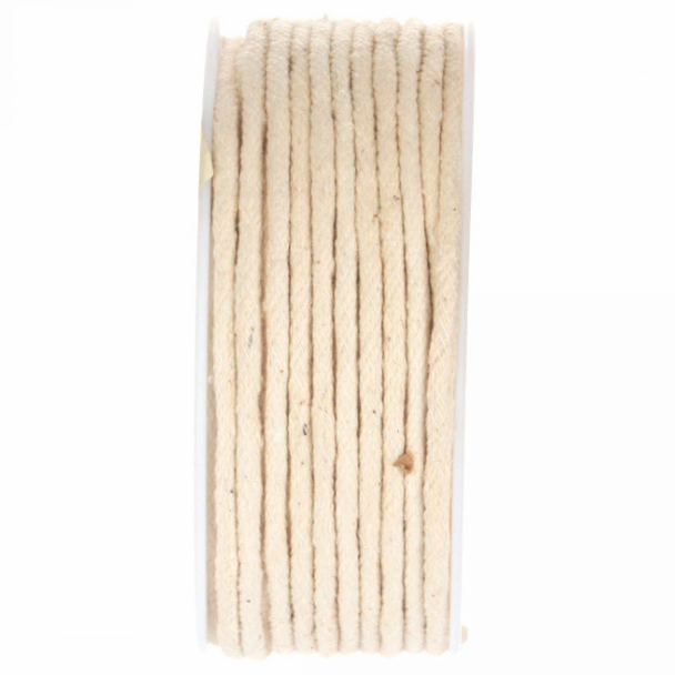 "Wrights - 1/4""  Cotton Piping Cord -  Natural - Per metre"