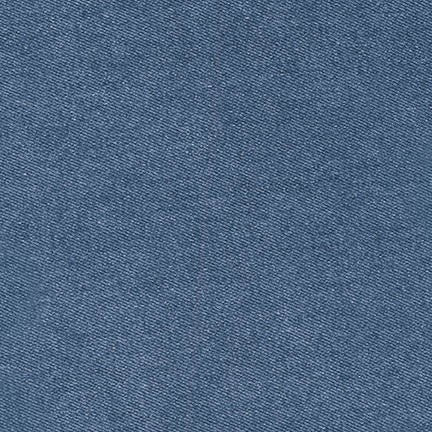 1/2m Robert Kaufman - 10 oz Denim - Indigo Washed