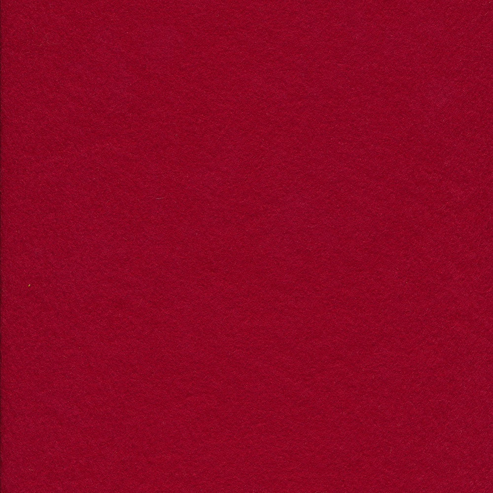 Wool/Rayon Felt - Red