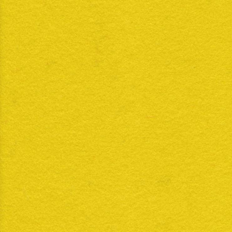 Wool Felt - Lemon Yellow