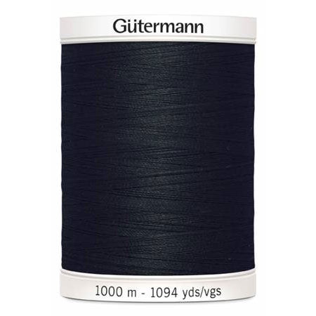 Gütermann Sew-All Thread - 1000m - #10 Black