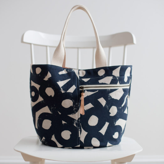 Noodlehead's Crescent Tote Pattern