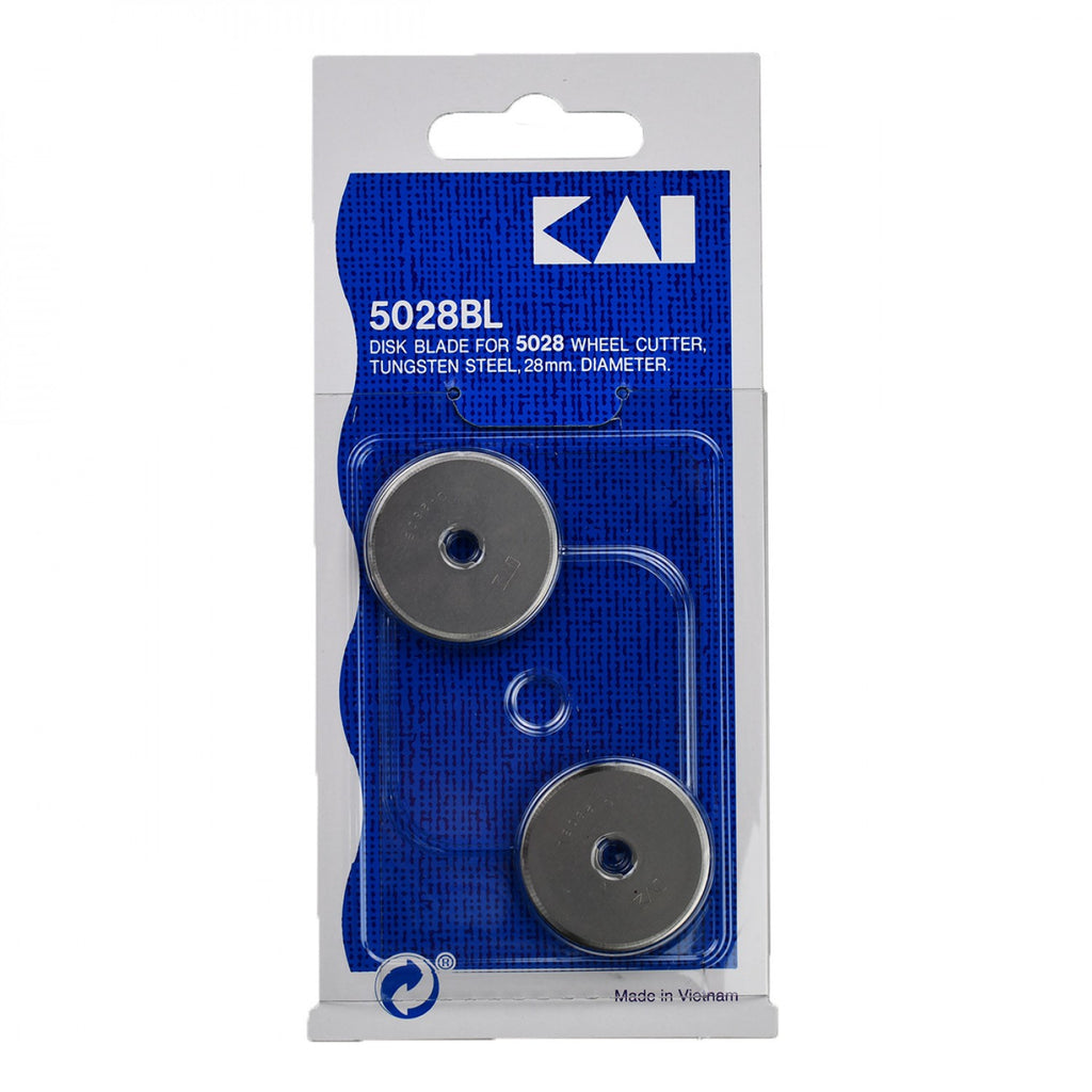 KAI 28mm Rotary Cutter Blades - 2 pack