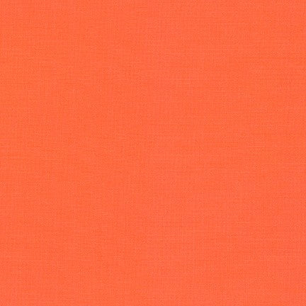 1/2m - Kona Cotton Solids - Orangeade