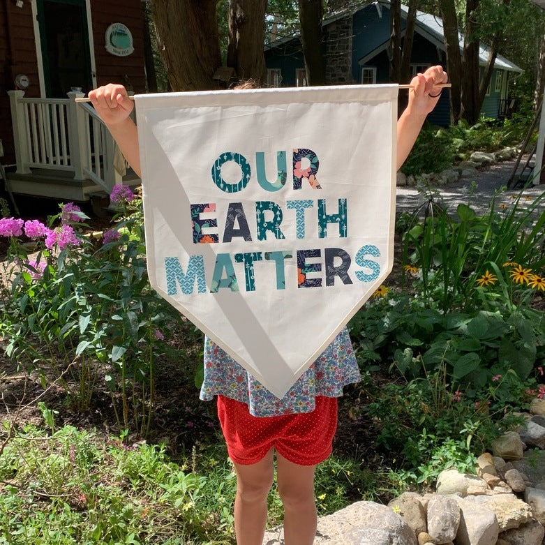 Crafters for Climate Change - Banner Making Workshop - SATURDAY MORNING