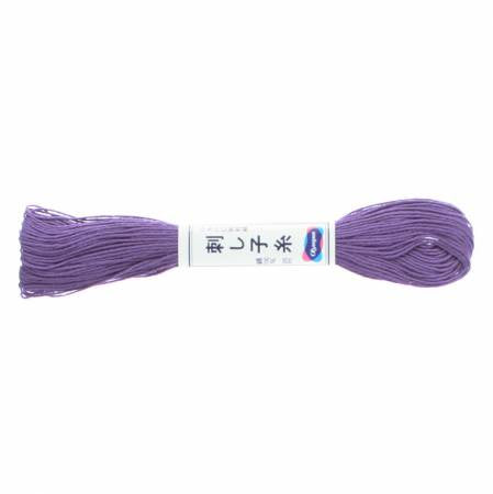 Sashiko Thread - 20m - 19 - Purple
