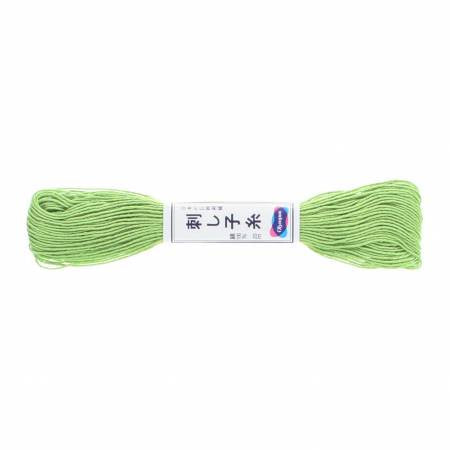 Sashiko Thread - 20m - 06 - Lime Green