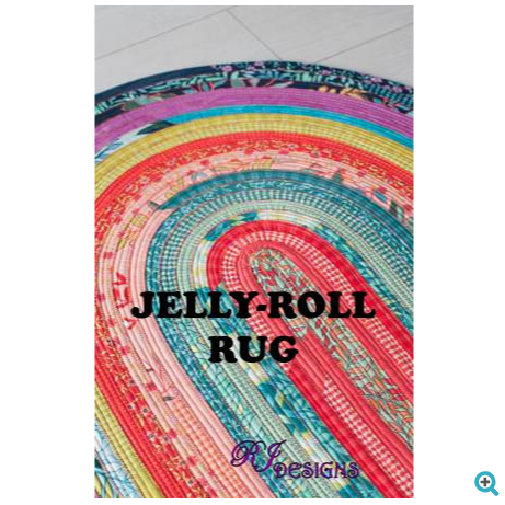 R.J. Designs - Jelly Roll Rug Pattern