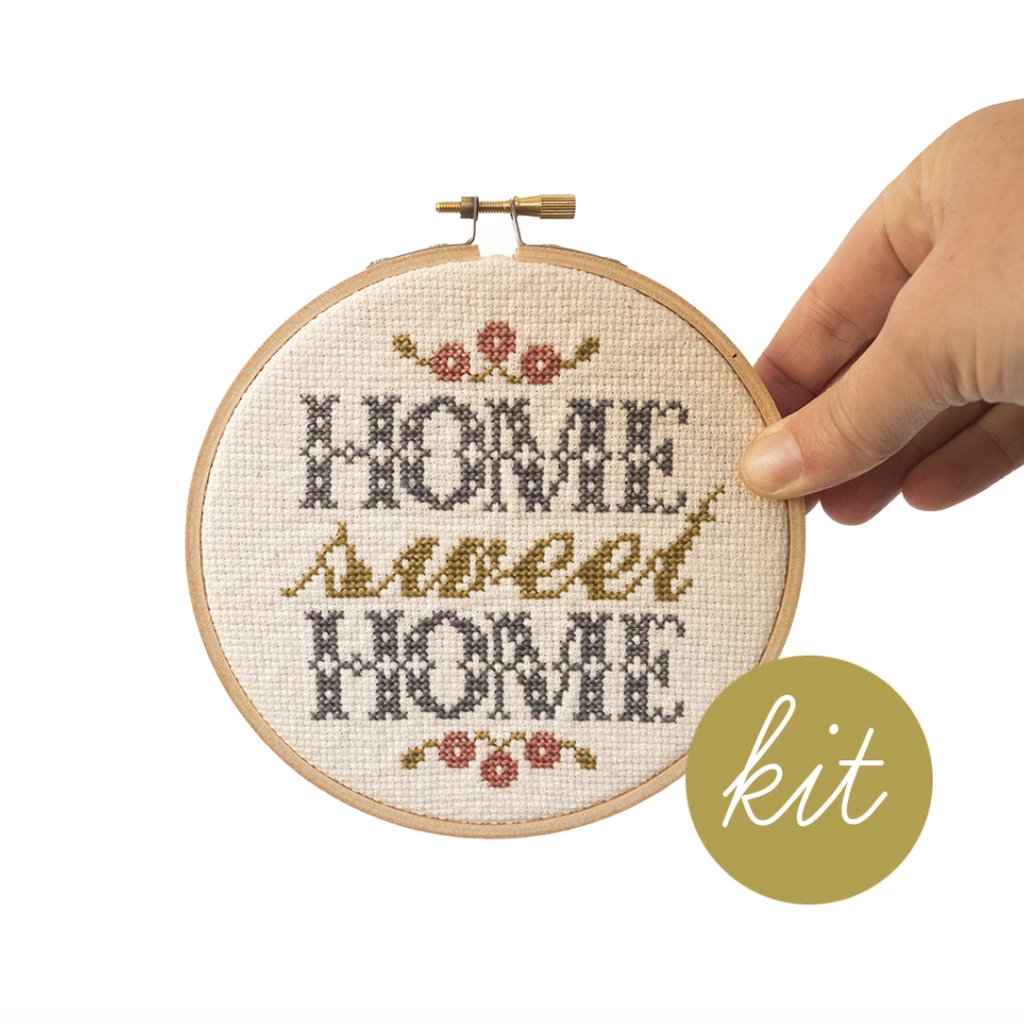 Junebug and Darlin - Home Sweet Home Cross Stitch Kit