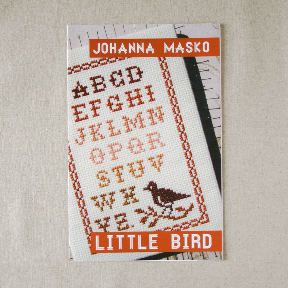 Johanna Masko - Little Bird Cross Stitch Pattern