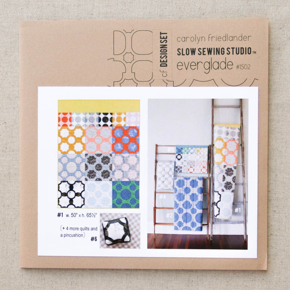 Carolyn Friedlander - Slow Sewing Studio Everglade