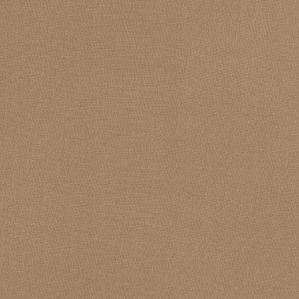 1/2m - Kona Cotton Solids - Taupe