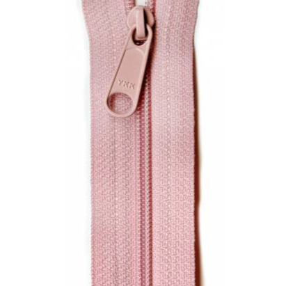 "YKK Ziplon Closed Bottom Zipper - 9"" - Prestige Pink"