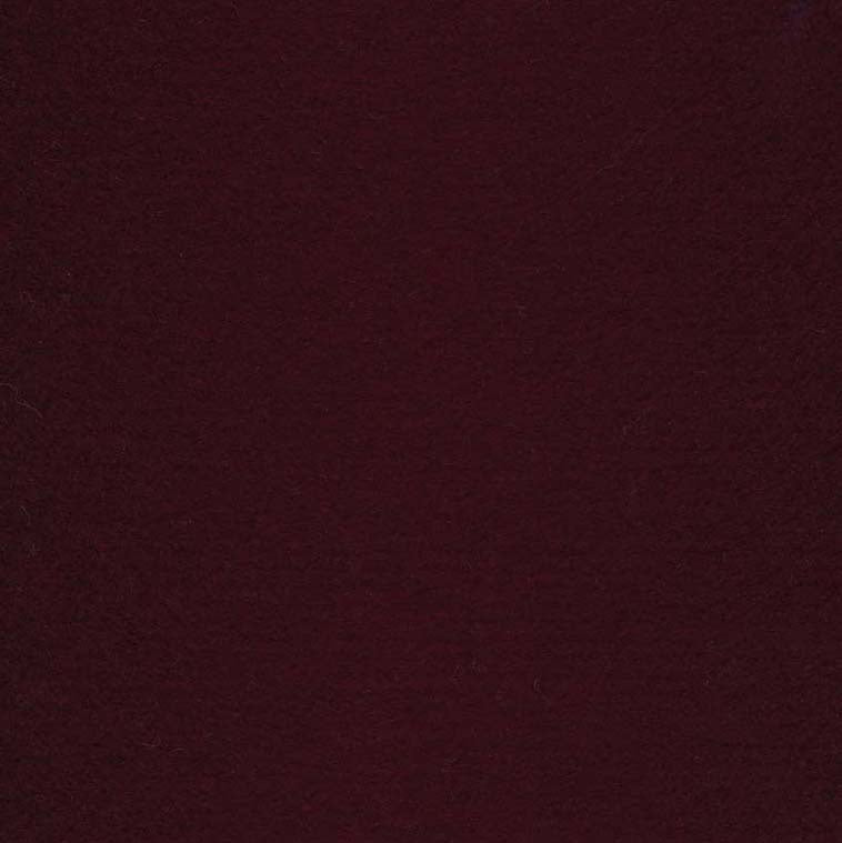 Wool Felt - Bordeaux Red