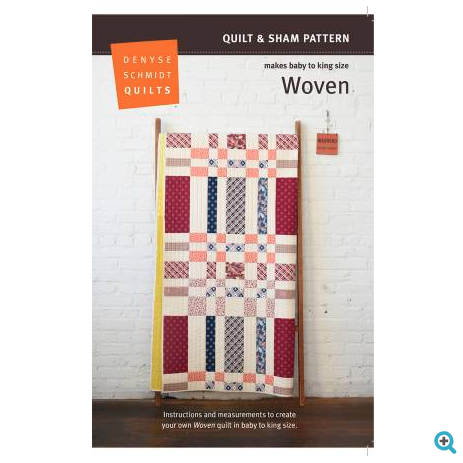 Denyse Schmidt - Woven Quilt and Sham Pattern