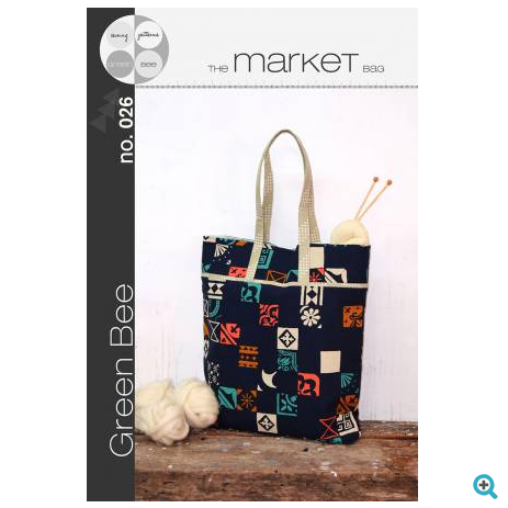 Green Bee Sewing Patterns - The Market Bag
