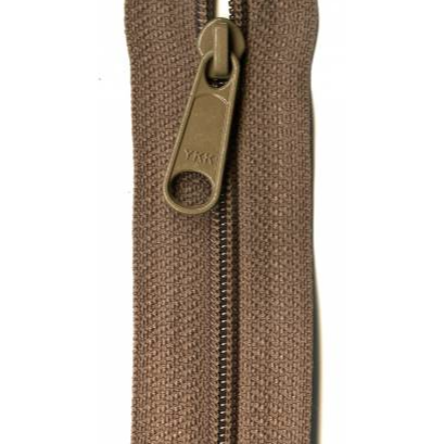 "YKK Ziplon Closed Bottom Zipper - 9"" - Taupe"