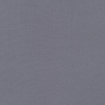 1/2m - Kona Cotton Solids - Medium Grey