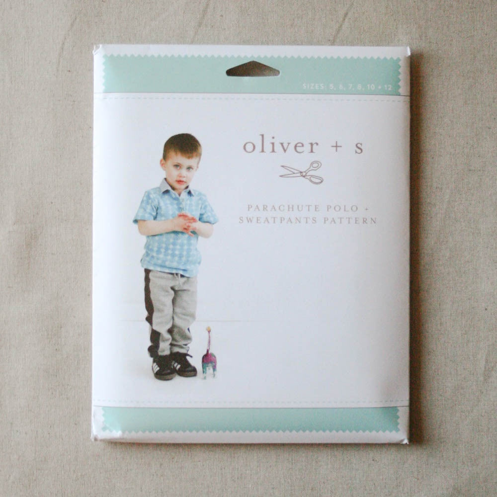 Oliver + S Parachute Polo & Sweatpants Pattern