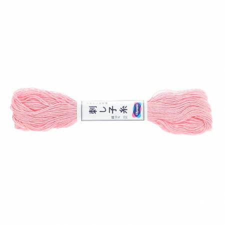 Sashiko Thread - 20m - 14 - Light Pink