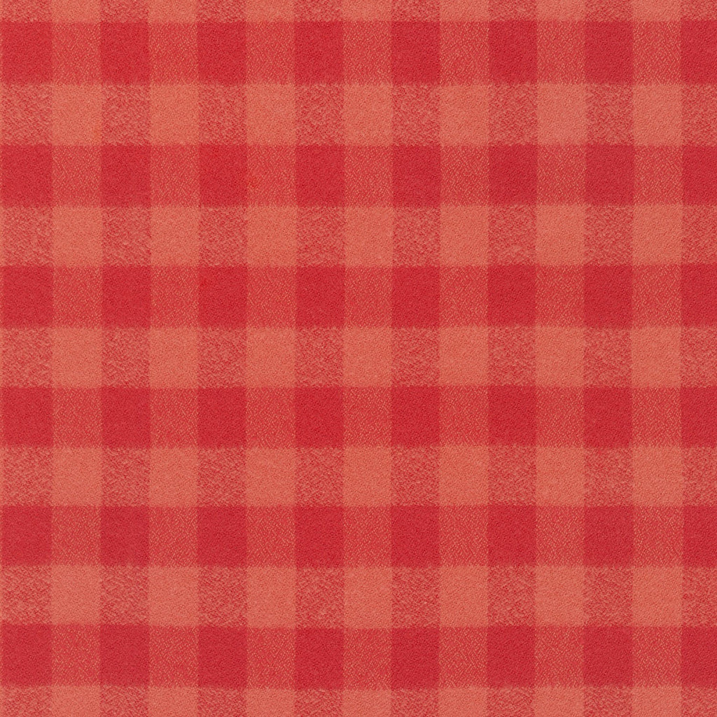 1/2m Mammoth Flannel - Plaid - Pimento