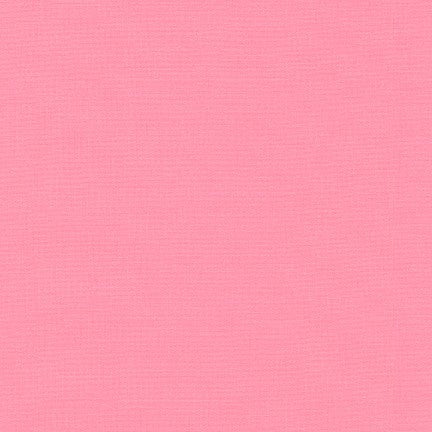 1/2m - Kona Cotton Solids - Bubble Gum