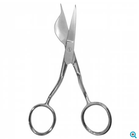 "Havel - Duckbill Applique Scissors - 6"" - Double Pointed - Left Handed"