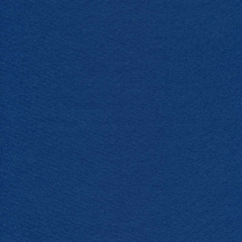 Wool/Rayon Felt - Deep Sea Blue