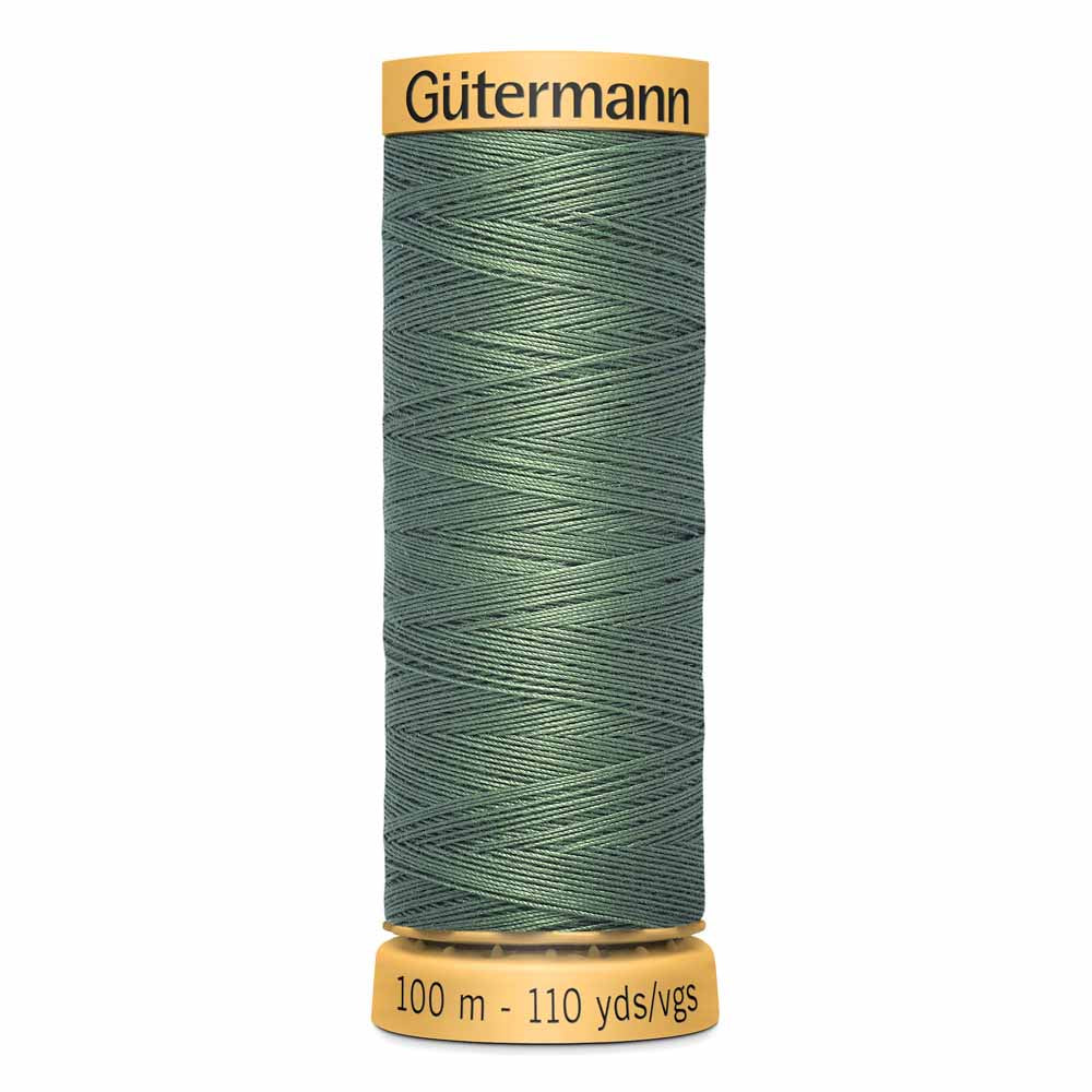 Gütermann Cotton Thread - 100m - #8050 Sage Green