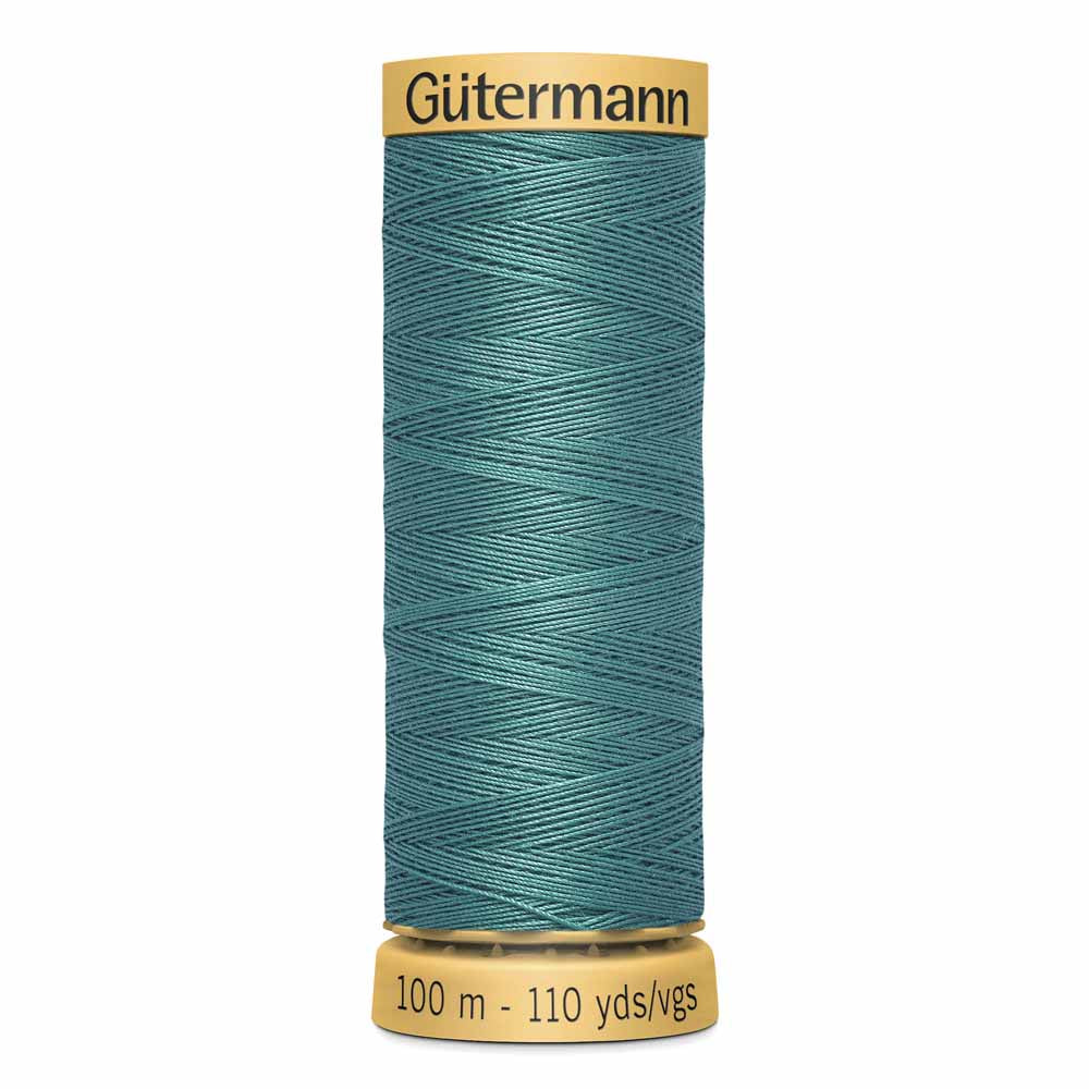 Gütermann Cotton Thread - 100m - #7760 Pine Green