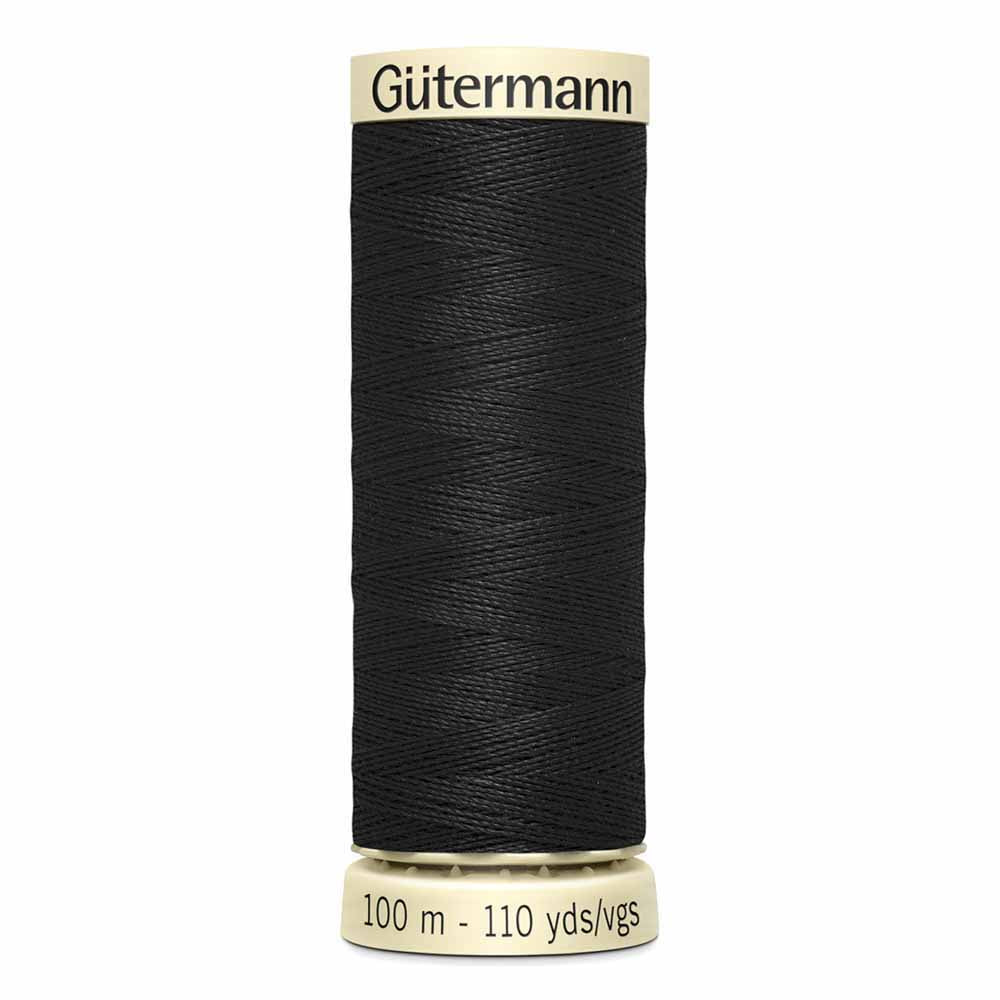 Gütermann Sew-All Thread - 100m -#10 Black