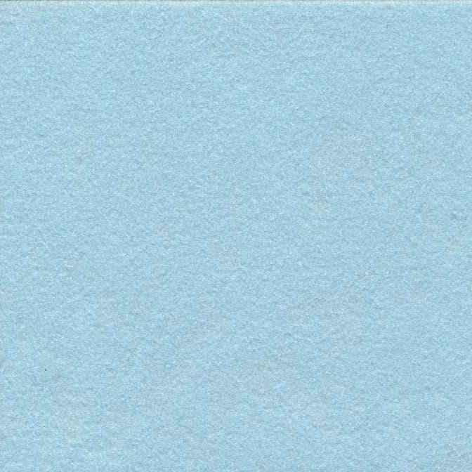 Wool/Rayon Felt - Blue Snow
