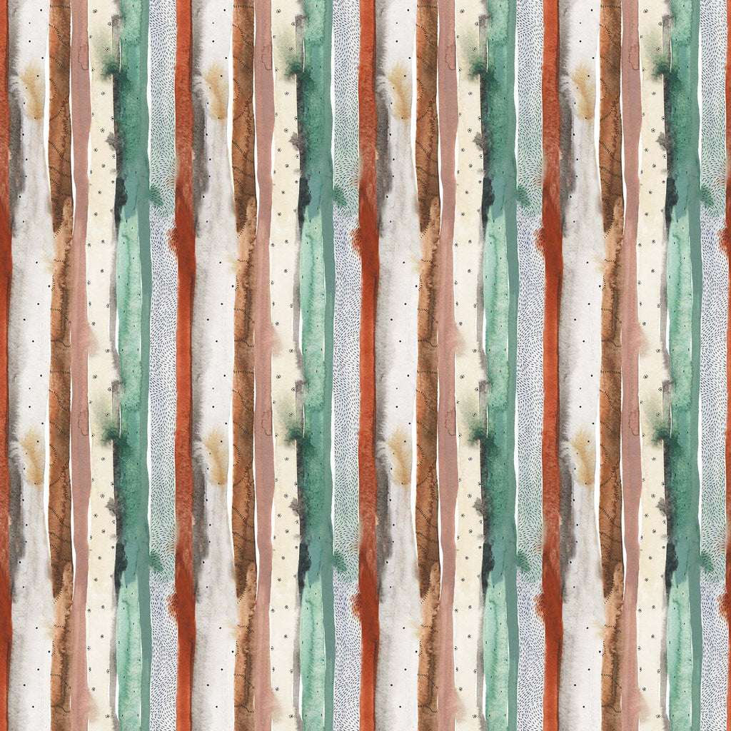 1/2m Boccaccini Meadows - Desert Wilderness - Stripes - Green