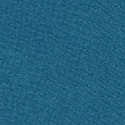 1/2m Robert Kaufman - Brussels Washer Linen - Ocean