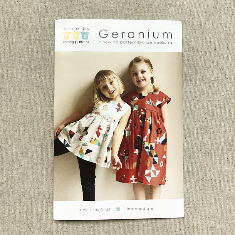 Made by Rae Geranium Dress - Sizes 0-5T