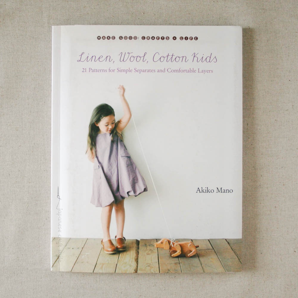 Linen Wool Cotton Kids by Akiko Mano