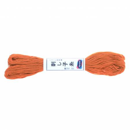 Sashiko Thread - 20m - 04 Carrot Orange
