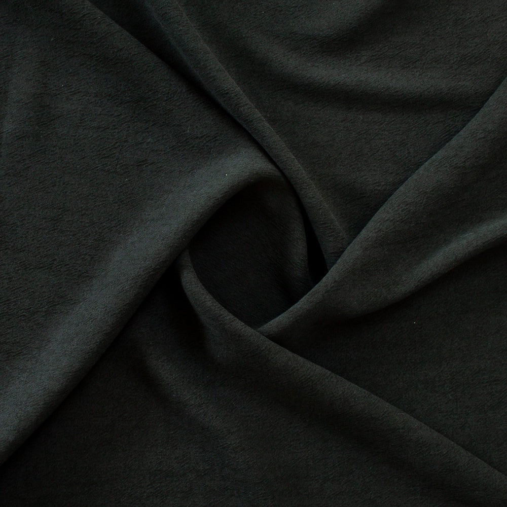1/2m Textured Tencel - Black